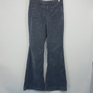 Free People Gray Flare Velvety Soft 26 (E1)